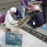 超速硬コンクリート打設